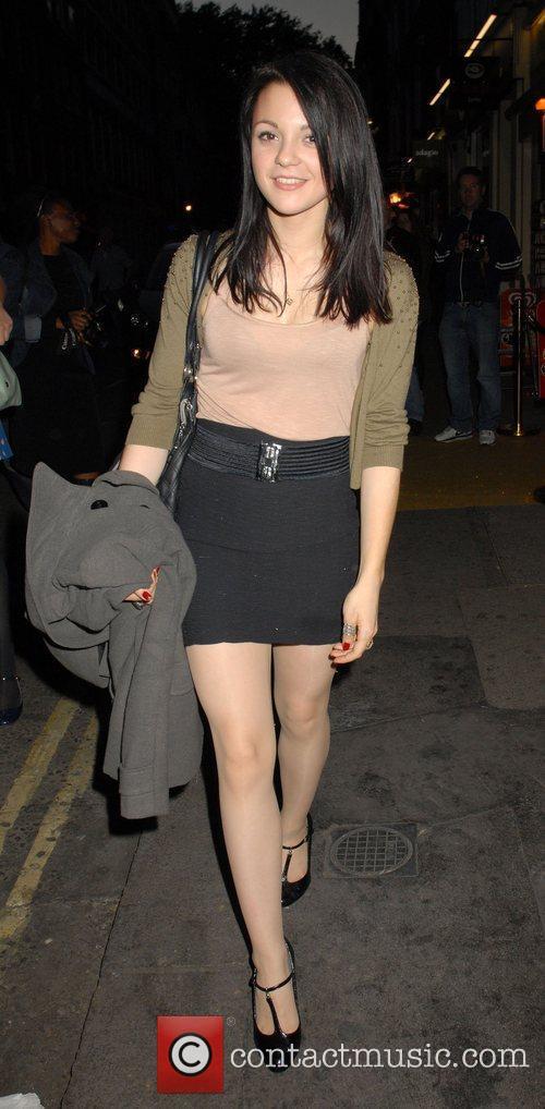 Kathryn Prescott,  at the Midsummer Nights Dream...