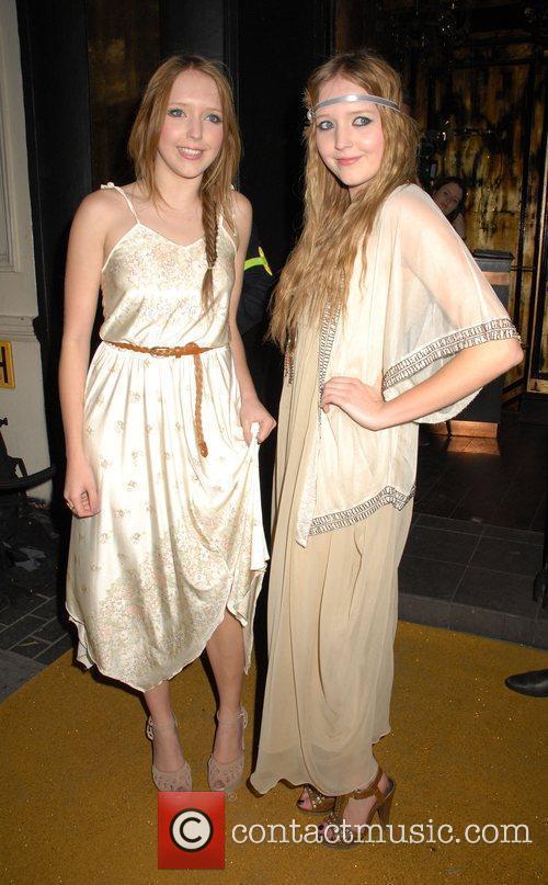 Samantha Marchant and Amanda Marchant,  at the...