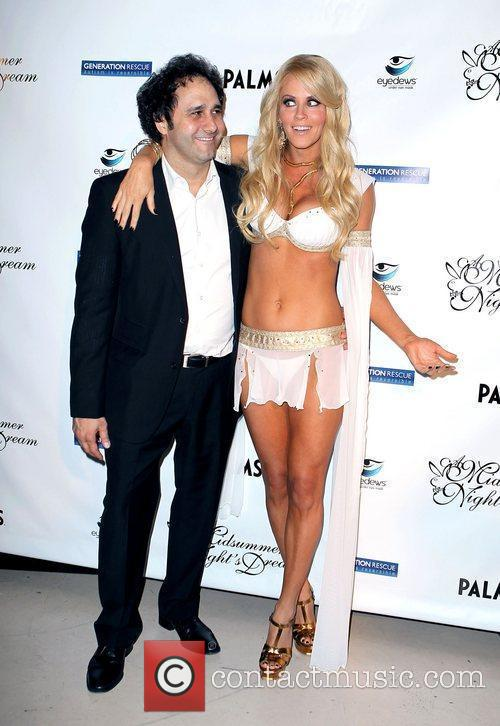 George Maloof and Jenny McCarthy Jenny McCarthy hosts...