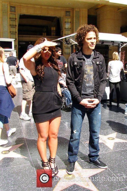 Former American Idol finalists Justin Guarini and Mikalah...