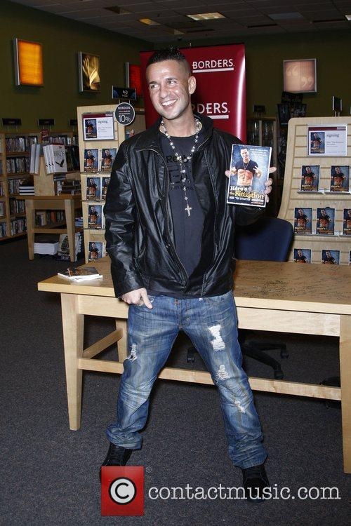 Mike Sorrentino aka 'The Situation' at a book...