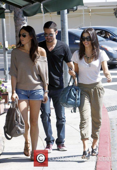 Mila Kunis heads to Cafe Med on Sunset...