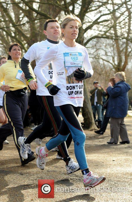 Miles For Missing People - Start Photocall held...