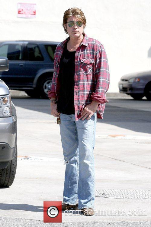 Billy Ray Cyrus waiting in the parking lot...