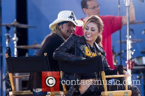 Bret Michaels and Miley Cyrus 14
