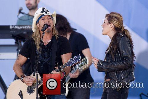 Bret Michaels and Miley Cyrus 10