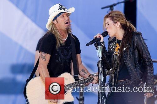 Bret Michaels and Miley Cyrus 9