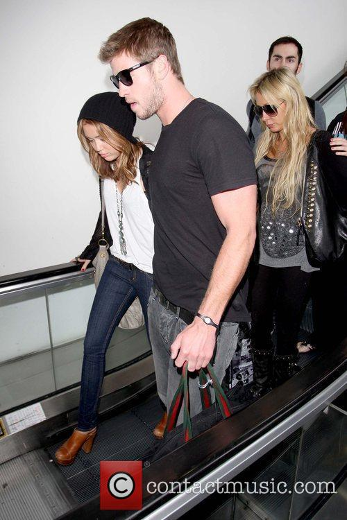 Miley Cyrus and Liam Hemsworth 18