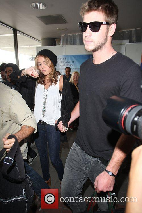 Miley Cyrus and Liam Hemsworth 28
