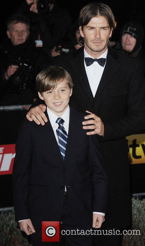 David Beckham and Brooklyn 11