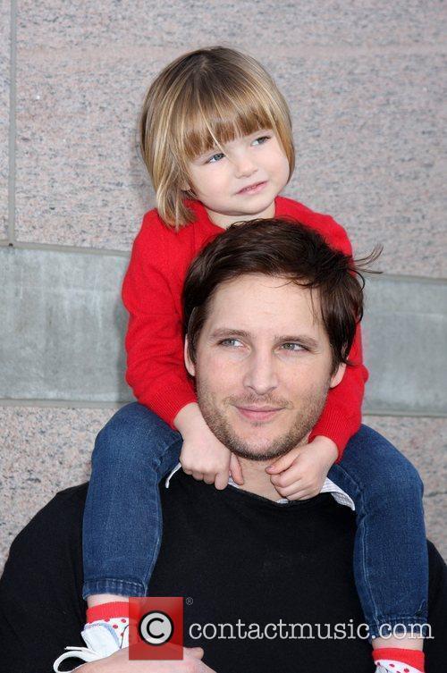 Peter Facinell and daughter Fiona Eve Facinelli Milk...
