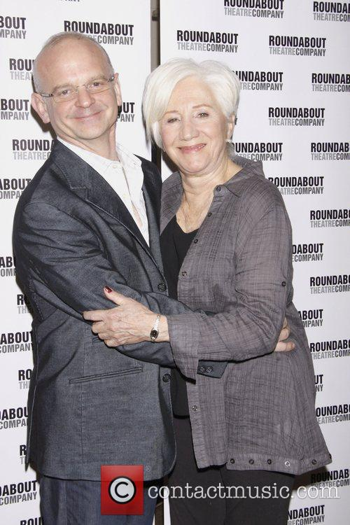 Michael Wilson and Olympia Dukakis 1