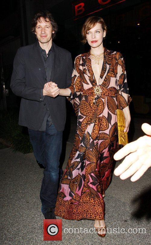 Milla Jovovich and Paul W.S. Anderson leaving BOA...