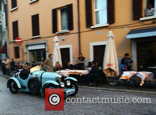 Italian entry for the 2010 Mille Miglia with...