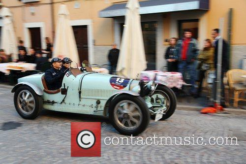 Japanese entry for the 2010 Mille Miglia with...