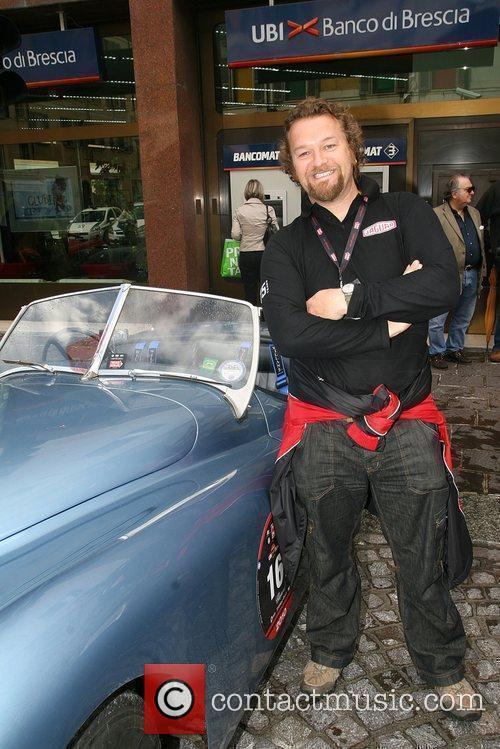 Television motoring journalist Tom Ford prepares to take...
