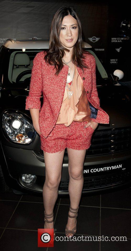 Michelle Branch Photocall at the Mini showroom on...