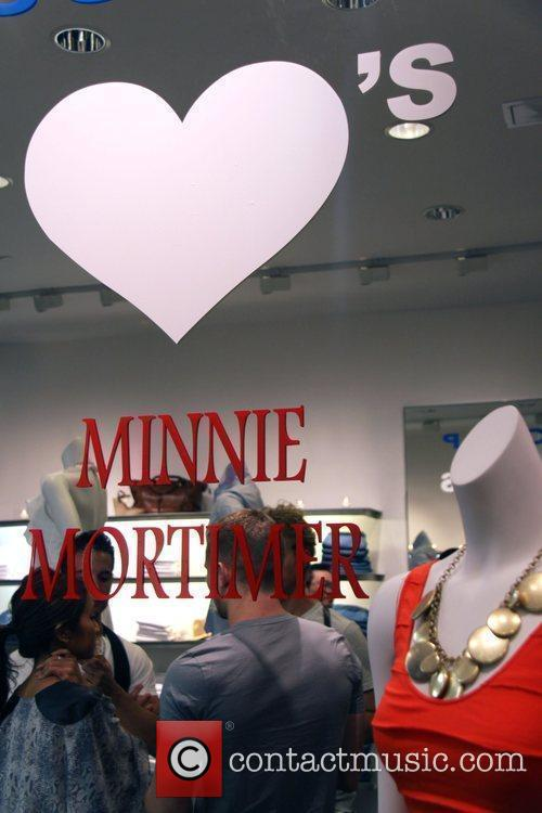 Preview of Minnie Mortimer's new line at Scoop...