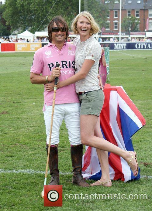 Jodie Kidd and boyfriend Andrea Vianni attend day...