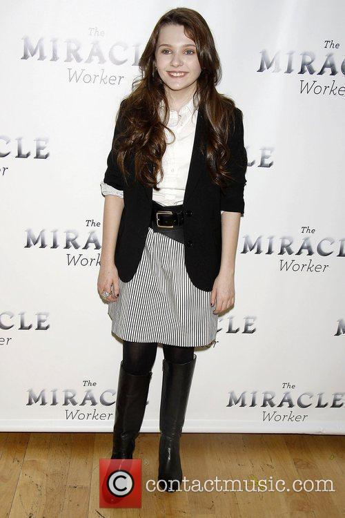 Abigail Breslin Photocall for the upcoming Broadway revival...