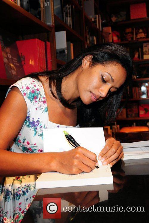 Reading and signing of Rula Jebreal's debut novel...