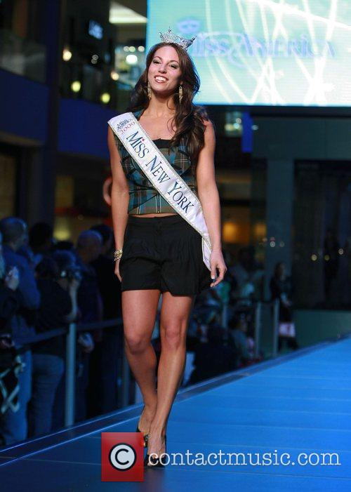 2010 Miss America Contestants make an appearance at...