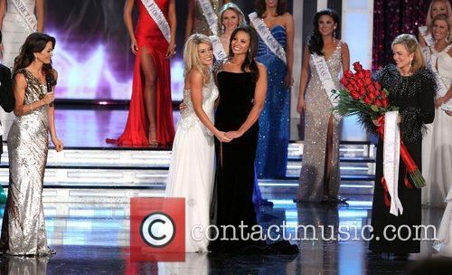 The 2011 Miss America Pageant at the Theater...