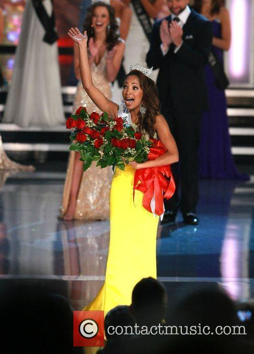 Is crowned 2010 Miss America at the Planet...