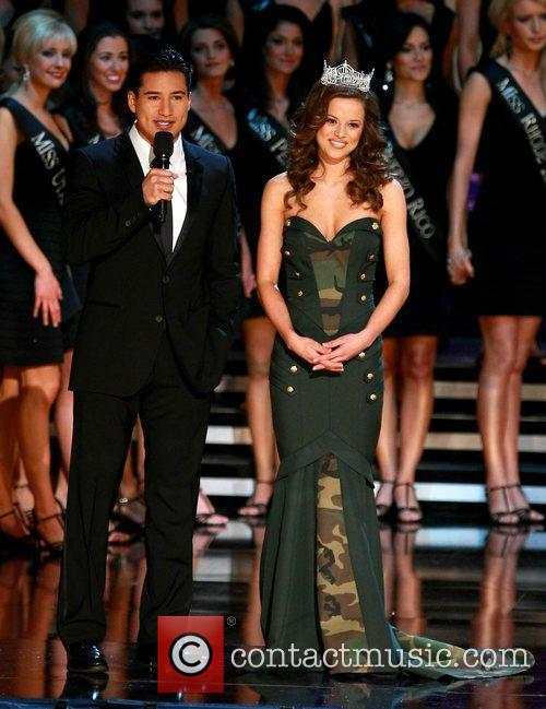2010 Miss America at Planet Hollywood theatre at...