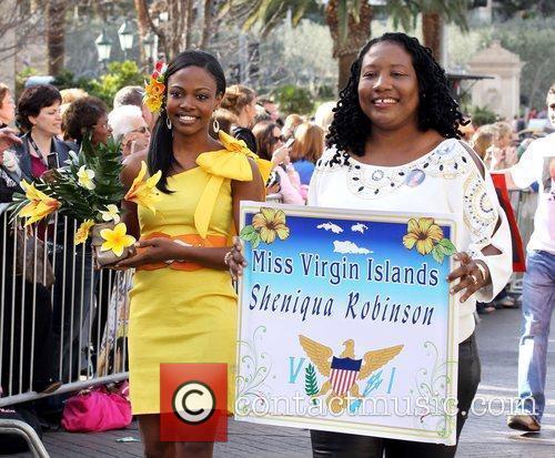 Miss Virgin Islands Sheniqua Robinson Miss America 2011...