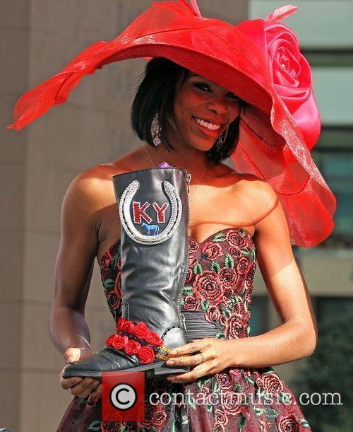 Miss Kentucky Djuan Trent Miss America 2011 DSW...