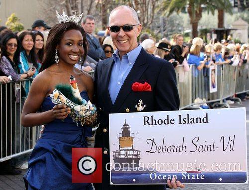 Miss Rhode Island Deborah Saint-Vil Miss America 2011...