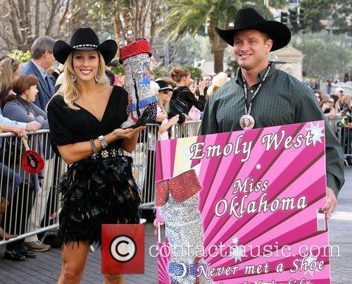 Miss Oklahoma Emoly West Miss America 2011 DSW...