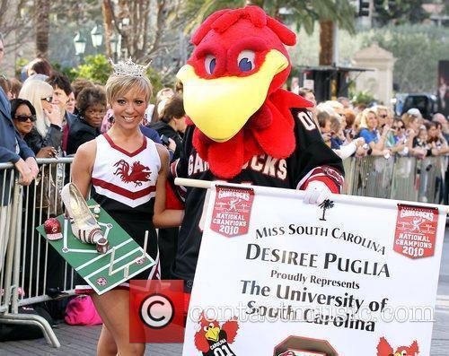 Miss South Carolina Desiree Leigh Puglia Miss America...