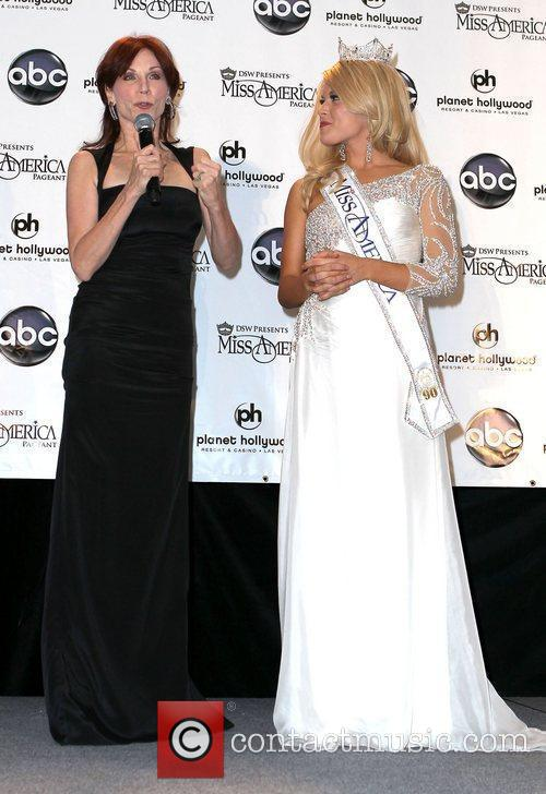 Miss America 2011 Press Conference at Planet Hollywood...