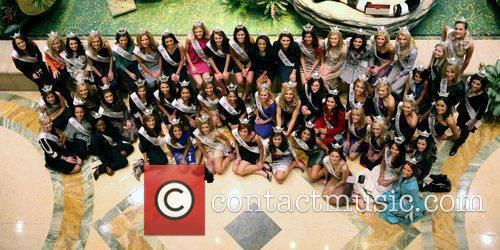 The Venetian Welcomes Miss America 2010 Contestants for...