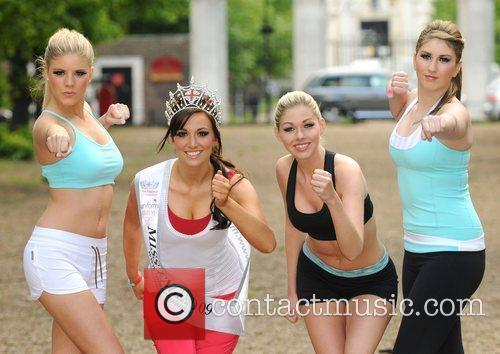 Miss England 5 LIVE Mannequins photocall