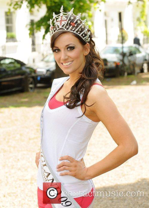 Reigning Miss England, Katrina Hodge  Miss England...