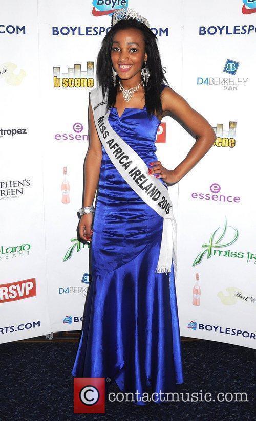 Miss Africa Ireland Stazia Costa Miss Waterford Emma...