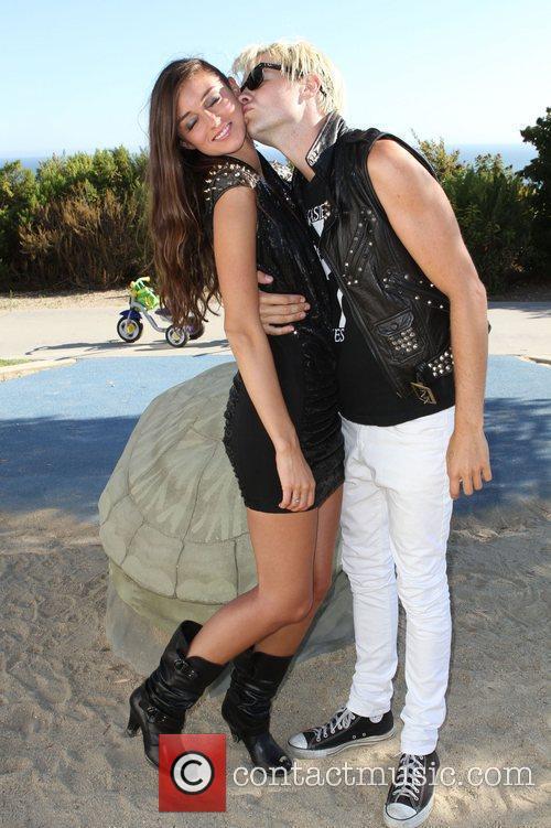 Caroline D'Amore and her Boyfriend Miss Malibu Pageant...