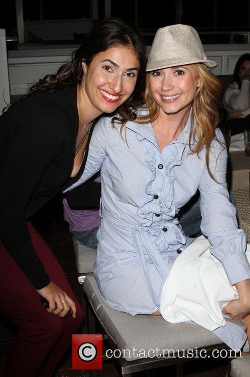 Dina Rezvanipour and Ashley Jones Miss Malibu Pageant...