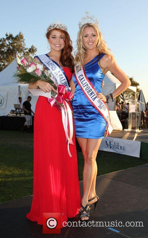 Miss Malibu 2011 Erin White and Miss California...