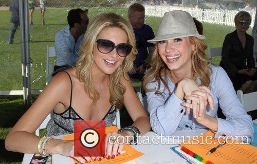 Stephanie Pratt and Ashley Jones Miss Malibu Pageant...