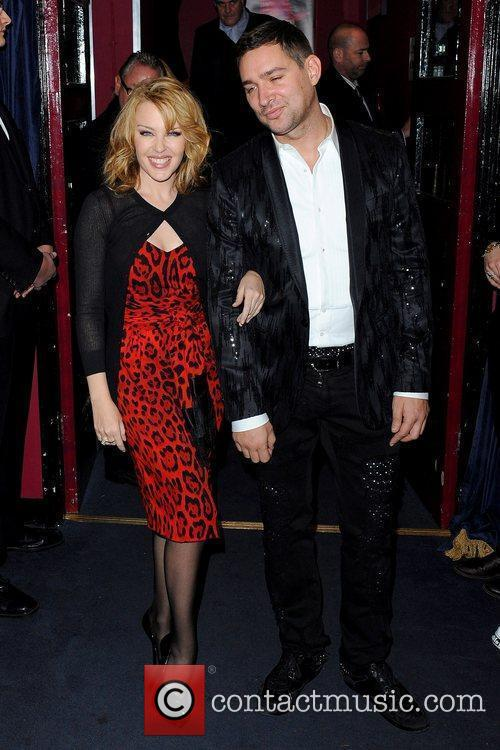 Kylie Minogue and William Baker Miss Polly Rae:...