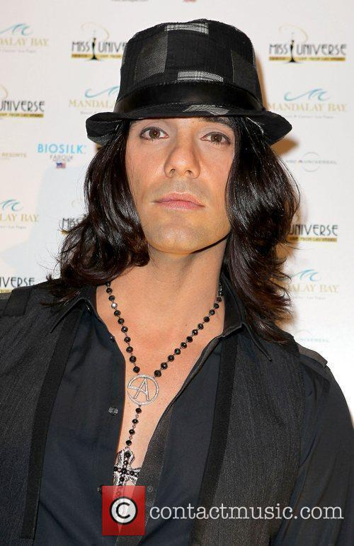 Criss Angel arrives at the 2010 Miss Universe...