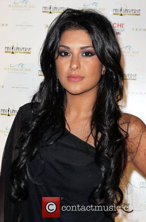 Tala Raassi arrives at the 2010 Miss Universe...