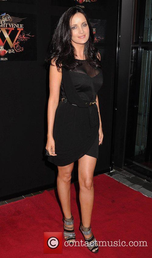 Andrea Roche Miss Universe Ireland 2010 at the...