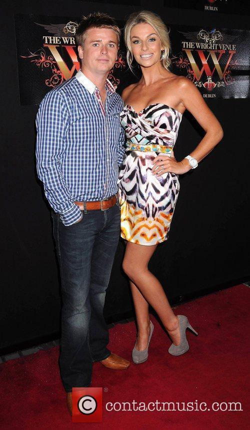 Brian Ormond and Pippa O'Connor Miss Universe Ireland...