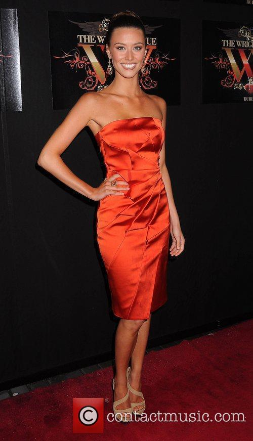 Diana Donnelly Miss Universe Ireland 2010 at the...