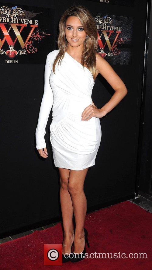 Nadia Forde Miss Universe Ireland 2010 at the...